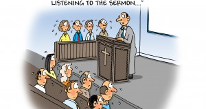 Sermon cartoon by Phil Day