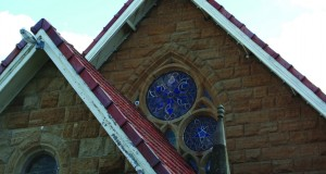 Roof of a Uniting Church in Warrick.