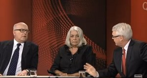 George Brandis Marcia Langton Tony Jones