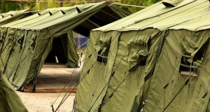 Tents at the Manus Island regional processing facility