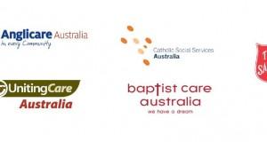 Anglicare Australia, Baptist Care Australia, Catholic Social Services Australia, the Salvation Army and UnitingCare Australia
