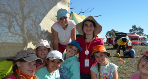 Uniting Church day camp at Roma was packed with adventure. Photo taken by Shannan Rothery.