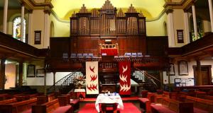 Pitt St Uniting Church in Sydney. Photo by Sardaka.
