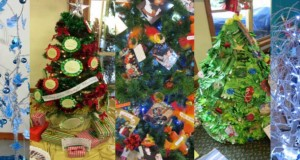 Maleny Uniting Church, Christmas tree festival. Photos were supplied.