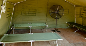 Temporary regional processing centre in Manus Island. Photo: Wikipedia Commons