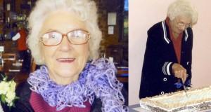 Lorna Rickert - Loving her Community 100 years