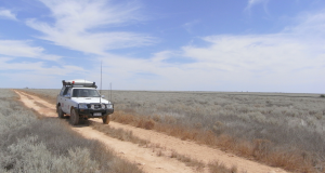 Four wheel drive in the outback. Photo was supplied.