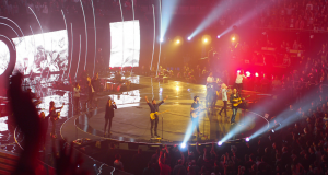 Hillsong United performing at Hillsong Conference in Sydney earlier this year. Photo by Ashley Thompson.