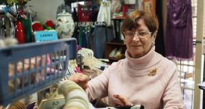 Community Care Op Sop volunteer, Anne Dodd.