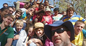 Participants at the North Queensland Presbytery kids' campout. Photo was supplied.