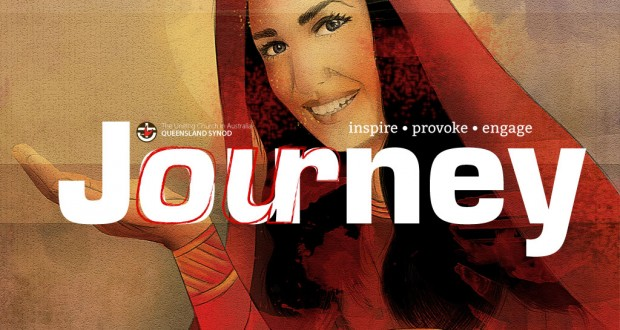 The February 2016 masthead of Journey magazine.