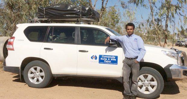 Frontier Services' Cunnamulla Patrol minister Rev Sunil Kadaparambil.