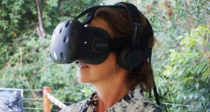 32nd Synod members took part in a virtual reality experience at Synod Unchained. Photo by Uniting Communications.