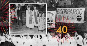 The Uniting Church celebrates its inauguration in 1977. Photo: Life and Times