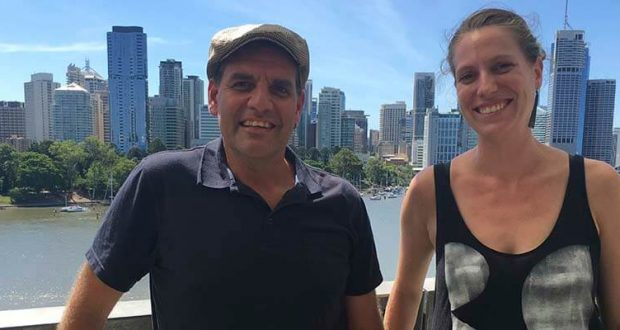 Dean Gibson and Kate Perry, this year's winners of Wesley Mission Queensland's Campaign for Change initiative.