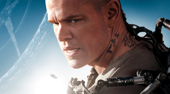 Matt Damon stars in Elysium MA15+ Photo by Sony Pictures.