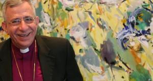 Bishop Munib Younan, Bishop of the Evangelical Lutheran Church in Jordan and the Holy Land, in Brisbane in September