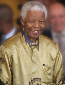 Nelson Mandela in Johannesburg, Gauteng, on 13 May 2008. Image source: South Africa The Good News / www.sagoodnews.co.za