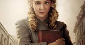 Sophie Nélisse plays Leisel Memminger in The Book Thief, based on the novel by Markus Zusak.