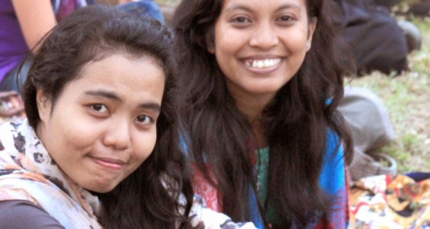 Youth delegates at Yurora NCYC 2014 in Sydney, Parramatta.