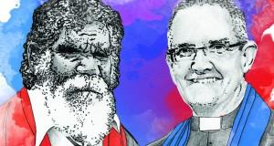 Rronang Garrawurra and Andrew Dutney