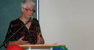Eileen Glass, International Vice Leader of L'Arche International.