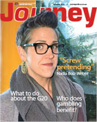 Journey October 2014 - click to read and download