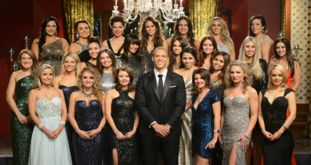 The Bachelor Australia 2014, Blake Garvey and contestants. Photo: Network Ten