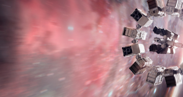 A space station from the movie Interstellar. Photo by Warner Bros. Pictures.