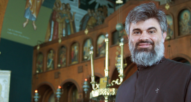 Reverend Father Anastasios Bozikis. Photo: by Rohan Salmond.