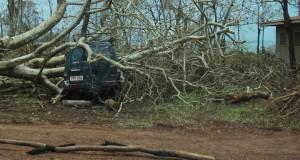 Damage at Galiwin'ku on Elcho Island. Photo by Rev Dr Stephen Robinson.