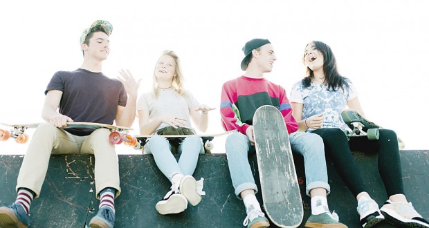 Stock image of youth and young adults.