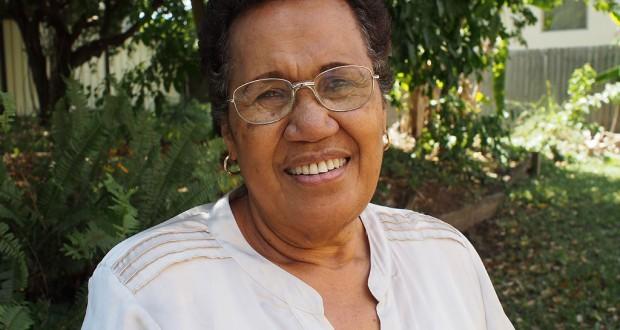 Fijian-Australian women's advocate Lisa Meo in Brisbane. Photo: Holly Jewell