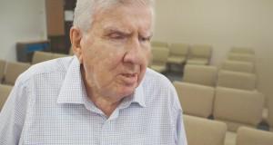 Aspley Uniting Church elder Everald Compton. Photo taken by Journey.
