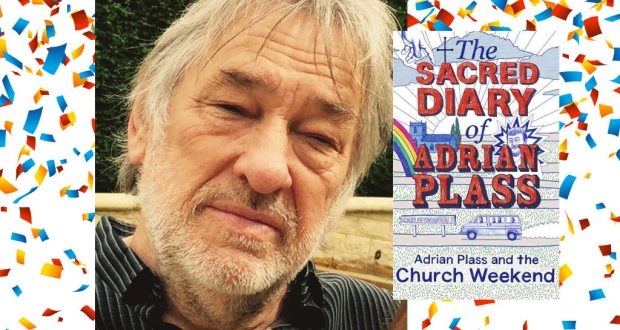 "Adrian Plass; ""The Sacred Diary of Adrian Plass: Adrian Plass and the Church Weekend"" (Hodder & Stoughton). Photo: Supplied."