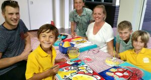 Participants at KidzArt, Southport Uniting Church. Photo by Dona Spencer.