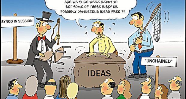 Unchaining dangerous ideas... Illustration: Phil Day