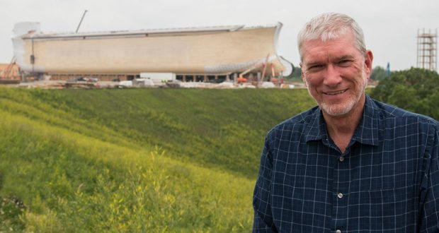 Ken Ham at the Ark Encounter in North America. Photo was supplied.