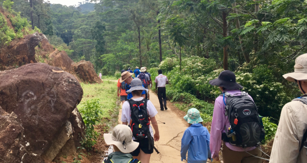 Members of The Gap Uniting Church recently completed a challenging trek through Sri Lanka. Photo: Supplied