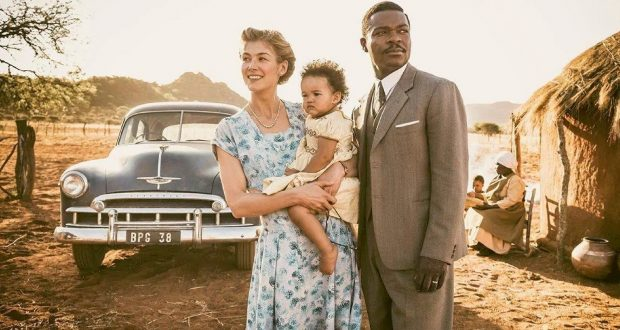 Rosamund Pike and David Oyelowo star in A United Kingdom. Photo by Fox Searchlight Pictures.